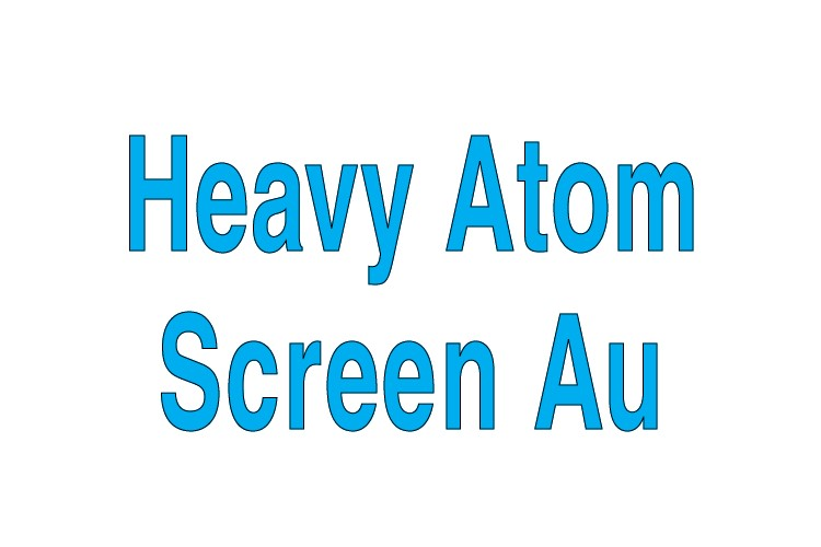 Heavy Atom Screen Au Individual Reagents
