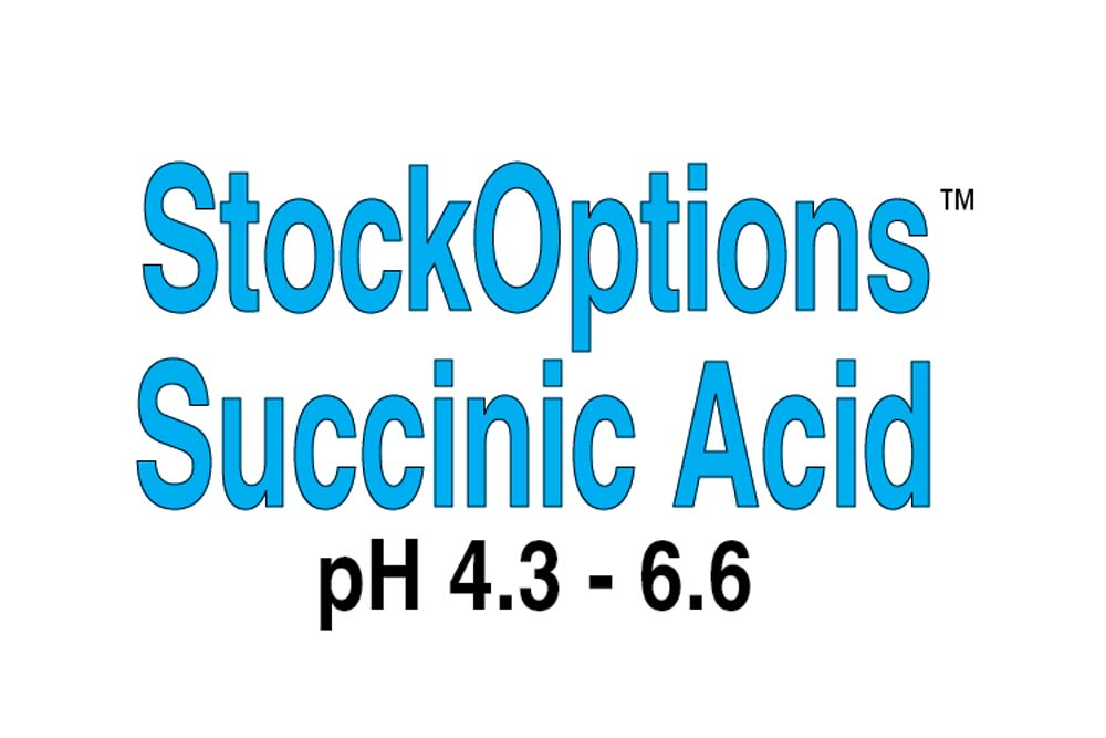 StockOptions Succinic Acid Individual Reagents