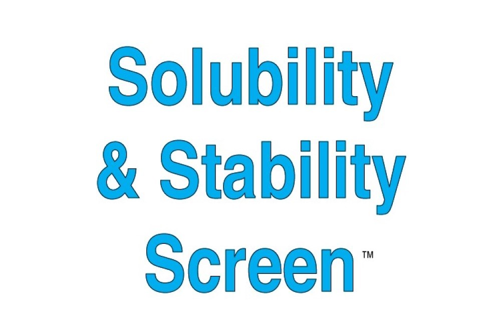 Solubility and Stability Screen Individual Reagents