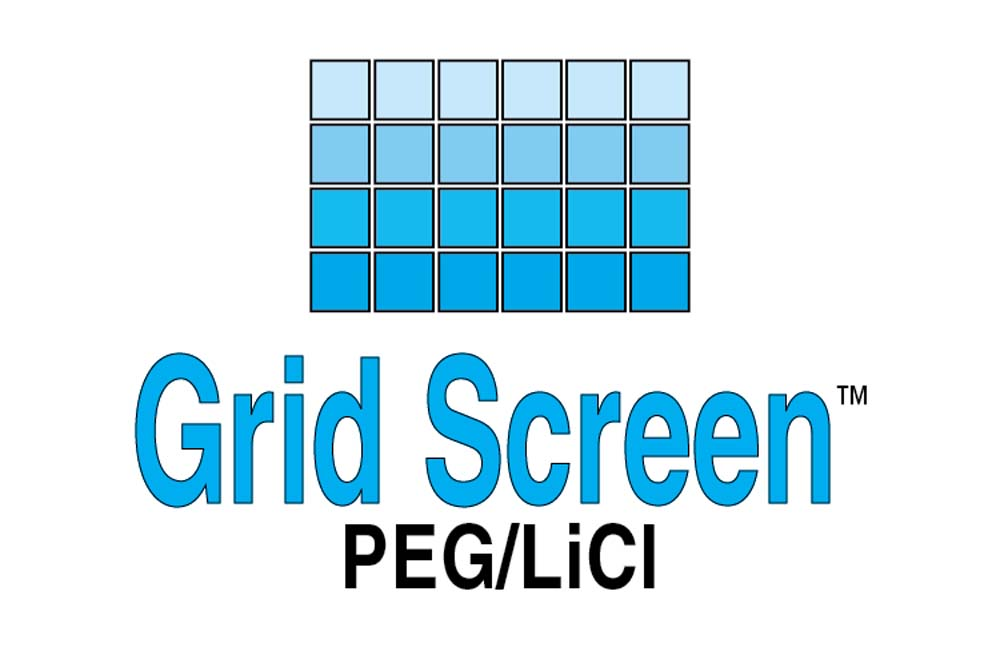 Grid Screen PEG LiCl