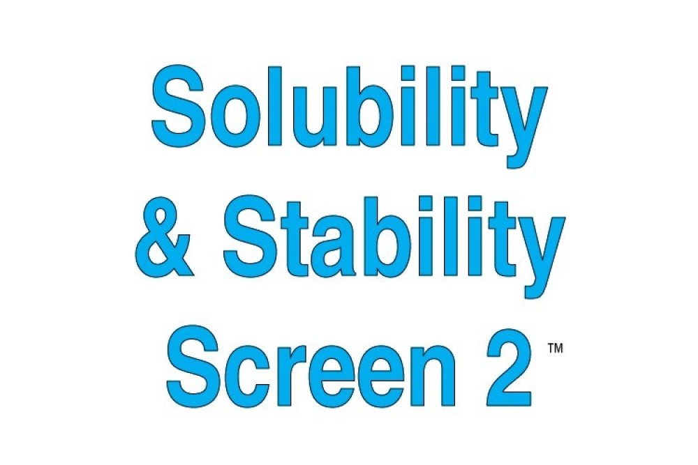 Solubility and Stability Screen 2 Individual Reagents