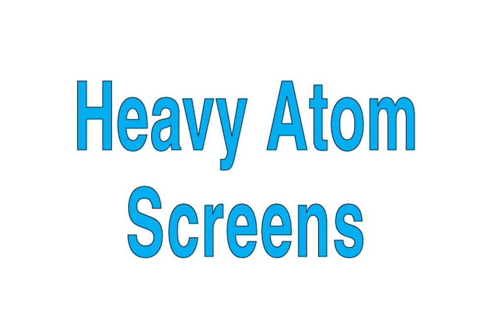 Heavy Atom Screen
