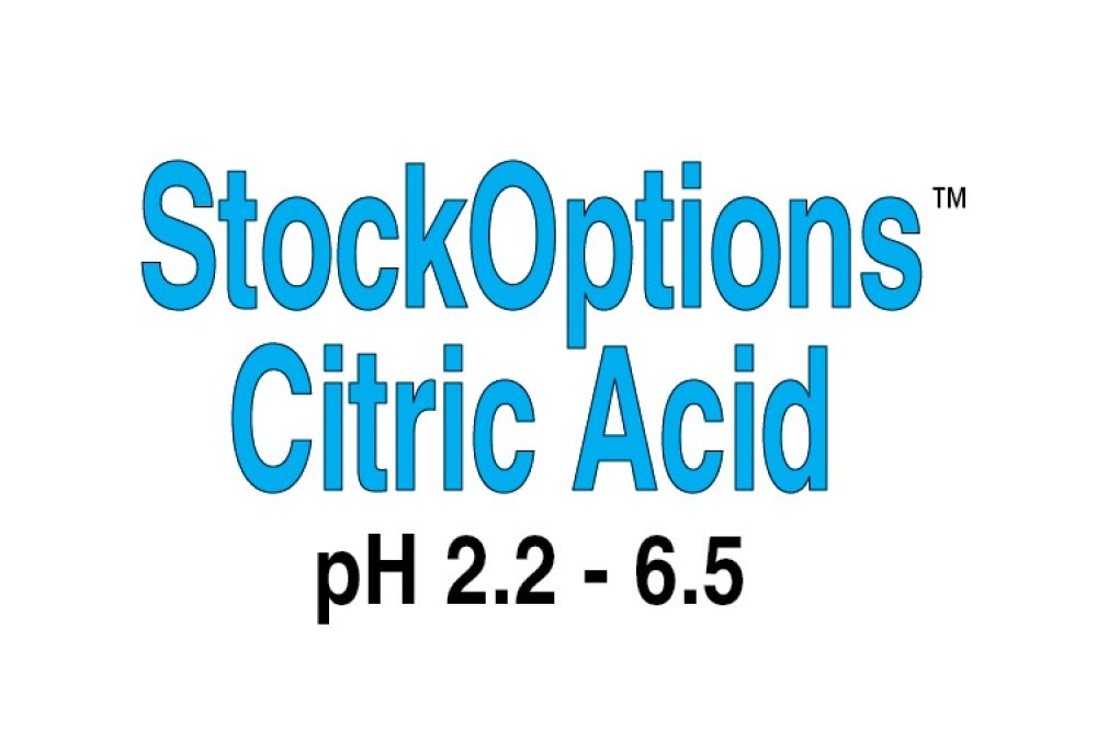 StockOptions Citric Acid Individual Reagents