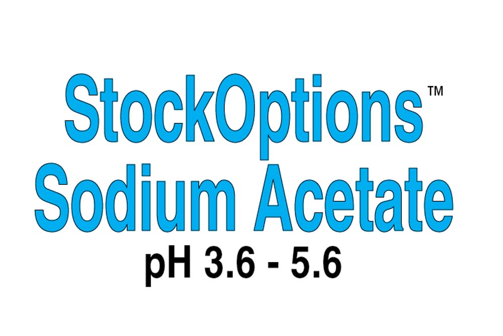 StockOptions Sodium Acetate Individual Reagents