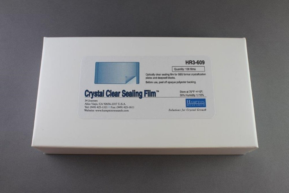 HR3-609 Crystal Clear Sealing Film