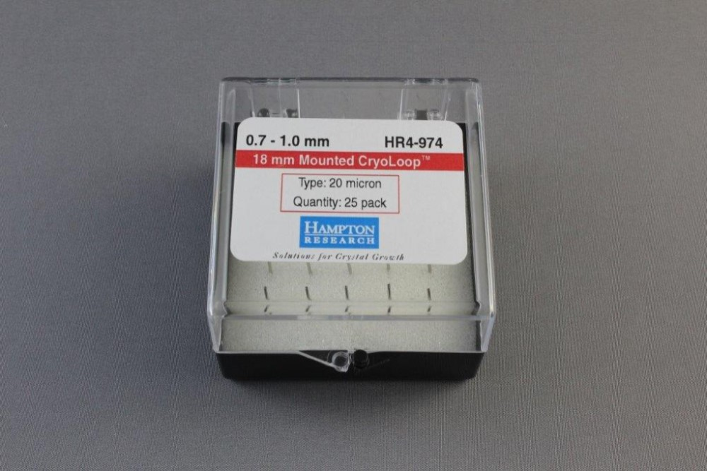 HR4-974 18 mm Mounted CryoLoop 0.7 - 1.0 mm