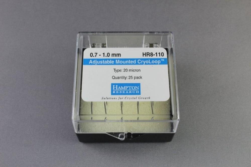 HR8-110 Adjustable Mounted CryoLoop 0.7 - 1.0 mm